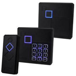 controle de acesso da porta do cartão inteligente Desconto Leitor de cartão impermeável do controle de acesso do leitor RFID IP65 Leitor de cartão 125KHz / 13.56MHz Smart Card com diodo emissor de luz para o sistema de segurança da porta