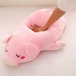 подушка куклы подруги Скидка Милый мягкий вниз хлопок свинья плюшевые куклы фаршированные розовый свинья куклы детские программное обеспечение подушка подарок для подруги 1 шт.