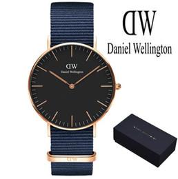 458ec093032 marrom relógios mulheres Desconto Atacado Daniel Wellington 40mm homens  relógios 36 mulheres relógios DW marca de