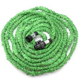 Подержанные зеленые автомобили онлайн-25 50 75 100 футов Зеленый Гибкий сад автомобилей воды Шланг EUUS StandardGreat воды созрели для семейного использования или построить использование