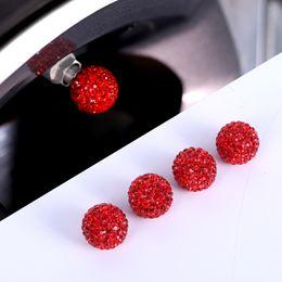 2019 accesorios de cobre 4pcs cristales neumáticos de coche tapas de válvulas para Mini Cooper Exterior Styling accesorios