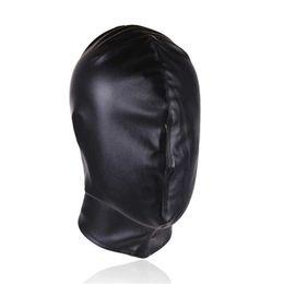 2019 máscara sexo para os homens Casais brinquedos sexuais, com capuz, máscara preta, máscara de olho, contenção, homens e mulheres, escravos, casais, paixão, flertando sexo suprimentos máscara sexo para os homens barato