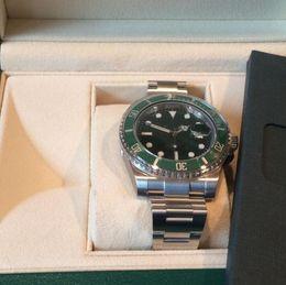 Argentina 2019 Súper fábrica V3 2813 movimiento de reloj de cerámica verde del bisel de zafiro de vidrio de 40 mm 116610 116610LV nuevo estilo caja original relojes del reloj para hombre Suministro