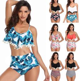 2019 vêtements sexuels plus taille Vêtements pour femmes Maillot de bain taille haute Bikini Sexy 3XL Femme 2019 Maillot de bain bikini de créateur de taille femme Bikini Femme vêtements sexuels plus taille pas cher