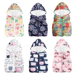 7eba381798 boys sleeveless hooded vest 2019 - Más barato Otoño Invierno Cálido Chalecos  para niños Para niños