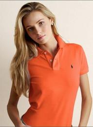 Летняя тренда t рубашка онлайн-С короткими рукавами футболки поло рубашка лацкан женщин 2019 новый летний стиль темперамент повседневная рубашка тонкая тенденция