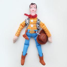 Gomma di gomma online-Testa di gomma giocattolo bambola per bambini anime giocattoli di peluche regali per bambini giocattoli ragazzo mobilitazione generale cowboy sceriffo peluche regalo bambola 50 cm