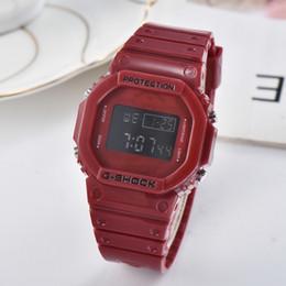 marcação eletrônica Desconto Top vender Moda G Homens e mulheres relógio esportivo de Luxo LED relógio Eletrônico Relógios de Choque Tag Cronógrafo estudante Digital relógios de Pulso de presente