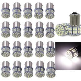 2019 preços dos carros smd 20 Pcs Extremamente Super Brilhante 1156 50 SMD LED Lâmpadas de Substituição para a Luz Traseira do RV Luzes de Freio acessórios do carro Menor Preço preços dos carros smd barato