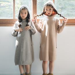 Fio de cabelo de coelho on-line-New Kid Camisola Bebê Princesa Menina Outono Crianças Vestido Núcleo de Cabelo Coelho Fiado Fios Criança Camisola, # 3469