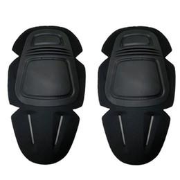 Esercito militare protezione del ginocchio tattico ginocchiera supporto del ginocchio sport paintball airsoft combattimento pantaloni pastiglie protettive # 349708 da