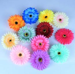 Clip fleurs pour cheveux en Ligne-Gerbera Daisy fleur épingles à cheveux FEMME FILLE fleur Pince à cheveux Accessoires Cheveux bébé Filles Fleur Clip KKA6801
