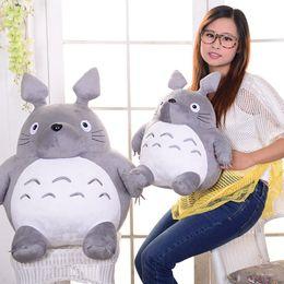 película de mariquita Rebajas Nuevos 20 / 30CM relleno lindo Dibujos animados Mi Vecino Totoro Peluches regalos juguetes para niños juguetes blandos para el regalo niños de juguete Animal muñeca
