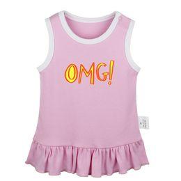 Имперские платья онлайн-OH MY GOD король Imperial дрейф короны король Дизайн Новорожденных ребёнок платья малыши платье без рукавов Infant Хлопок Одежда