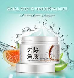 Rosto esfrega on-line-BIOAQUA Facial Cleanser Natural Facial Esfoliante Esfoliante Brightening Peeling Gel Creme Face Scrub remoção Face Care