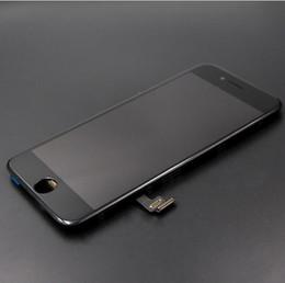 Caméra frontale iphone blanc en Ligne-NOUVELLE Qualité Pour iPhone 7 Balck Blanc Écran LCD Avec Remplacement Digitizer Écran Tactile + Caméra Avant DHL Gratuit