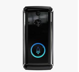 visión nocturna de la cámara pir Rebajas 101 Smart Home Vídeo timbre 1280P HD para la conexión Wi-Fi en tiempo real de la cámara de vídeo de audio bidireccional lente gran ángulo de visión Noche de movimiento PIR
