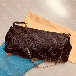 2019 tarjeta de pato EMBRAGUE DE EVA, Moda para mujer de alta calidad Bolso cruzado Bolso de cadena de la tarde Bolso clásico marrón impermeable de cuero w / Dust Bag N55231