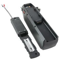 Batterie per biciclette elettriche online-Grande batteria per bicicletta gigante Hailong Batteria al litio da 48 V 17AH agli ioni di litio da 650 W a 1000 W bici elettrica con interruttore + porta USB 5 V