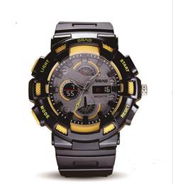 водонепроницаемые цифровые спортивные часы черный Скидка 2019 Спорт дизайн цифровые часы Aimecor электронные часы цифровые часы пряжки светодиодные мужчины водонепроницаемый спортивные часы шок цифровой черный спорт