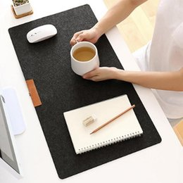 700*330 мм большой офис компьютерный стол коврик современный стол клавиатура коврик для мыши шерсть войлок ноутбук подушка стол коврик геймер коврик для мыши Коврик от