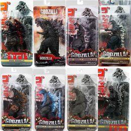 """digimon figuras Desconto Edição Godzilla Action Figure clássico 12"""" Cabeça de Brinquedos cauda 7 '' Toy NECA"""