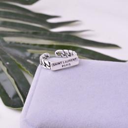 búho bolsas de regalo de navidad Rebajas S925 plata simple para hombre y para mujer de la manera de un anillo de viento helado
