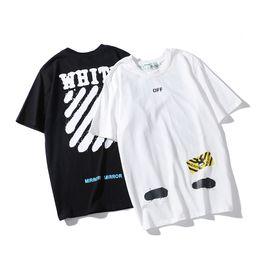 Майка тигр моды онлайн-Оптовая Tiger head марка мода роскошные топы дизайнер футболки для мужчин женская футболка женская футболка мужская одежда с коротким рукавом одежда бе