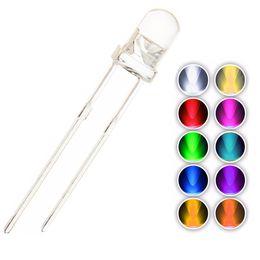 2019 lâmpadas led de 3mm YMDK 5 pçs / lote DIY 3mm 2x3x4mm 1.8mm LED Contas de lâmpada Ice Blue Rainbow Para Cherry Gateron Kailh MX Switches Teclado mecânico desconto lâmpadas led de 3mm