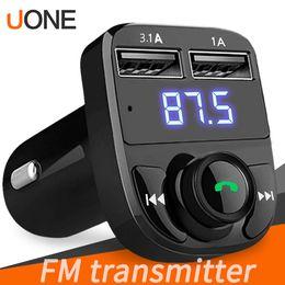 FM Verici Aux Modülatör Kablosuz Bluetooth Handsfree Araç Kiti Araç Ses TF Kart Portu 3.1A Hızlı Şarj Çift USB Araç Şarj nereden
