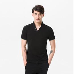 мужчины плюс размер поло Скидка Дышащий с коротким рукавом Мужские рубашки поло бренд хорошее качество Slim Fit мужские Поло Merken дизайнер Поло роскошные Поло плюс размер 5xl