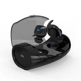 2019 casque audifonos bluetooth ES60 TWS Mini Double Vrai Écouteurs Sans Fil Casque Audifonos Bluetooth V5.0 Casque Sport Écouteurs pour IOS Android Smart Phone casque audifonos bluetooth pas cher
