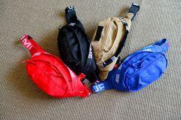 Sup 18SS Waist Bag 44th Unisex Fanny Pack Moda Uomo Canvas Uomo Messenger Bags 17AW Tracolla con etichetta da