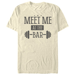 t-shirts graphiques pour hommes Promotion Rendez-vous au Bar Stars Mens Graphic T Shirt Hommes Femmes Unisexe Mode t-shirt Livraison Gratuite Drôle Cool Top Tee Blanc