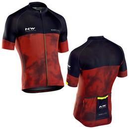 2019 roupa de cruz vermelha 2018 nw Equipe Suíça homens ciclismo jersey vermelho perfeito cruz Sports road ride bikeing roupas país mountain bike roupa de cruz vermelha barato