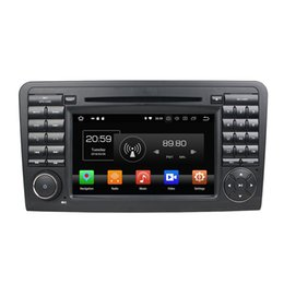 "Pantalla mercedes benz online-Octa Core 7 ""Android 8.0 Reproductor de DVD del coche para Mercedes Benz ML CLASE W164 ML300 ML350 ML450 ML500 Radio GPS WIFI Bluetooth 4GB RAM 64GB ROM"