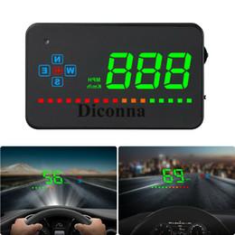 2019 licht skoda oktavia Auto GPS HUD Head Up Display Drehzahlmesser Geschwindigkeitswarnsystem DHL