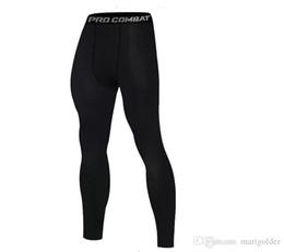 Esportes collants novos homens de basquete de treinamento de fitness em execução leggings de secagem rápida de alta elastic calças apertadas de
