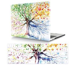 Capa de silicone para laptop apple on-line-Apple MacBook Colorido Capa De Proteção Para Air13.3 12 Pro15 Keyboard Form