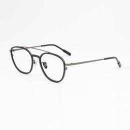8ac4e7a199 width-138 Ultra-light retro men titanium woman full-frame myopia sunglasses  style eyeglasses frames Male optical Spectacle frame