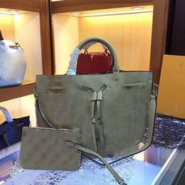 2019 totes brancos baratos das bolsas Bolsas de grife Girolata bolsa de luxo mulheres designer de bolsas de couro genuíno bolsa de grande capacidade LoVely bolsa bolsa