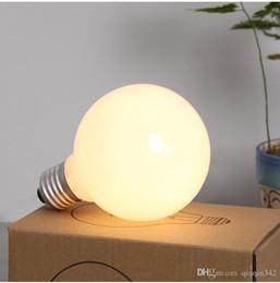2019 vidro da bola do dragão Big alta qualidade de vidro brilhante bulbo luz branca lâmpadas incandescentes G95 G80 E27 220V Leite Branco Dragon Ball Lâmpadas Bulb vidro da bola do dragão barato