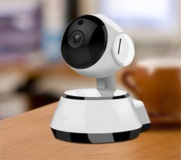 fio mini cames Desconto Home Security Câmera IP Wi-fi Câmera de Vigilância Por Vídeo 720 P Night Vision Detecção de Movimento Câmera P2P Monitor de Bebê Zoom