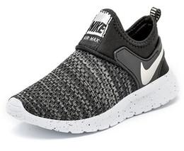Nuevos colores de ejecución libre online-New Colors Kids Running Shoes Baby Children Runner Sports Shoes Boys Girls Athletic Shoes envío gratis