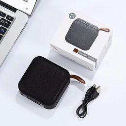 Plugue de áudio do computador on-line-T5 tecido sem fio bluetooth speaker portátil ao ar livre cartão de plug-in subwoofer pesado computador móvel mini-computador sem fio de áudio pequeno