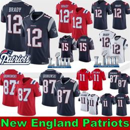 S cocinando online-New Patriots 12 Tom Brady Jerseys 87 Rob Gronkowski 11 Julian Edelman 26 Sony Michel 50 Men Keal Harry 10 Josh Gordon 14 Cooks 2019 New