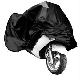 el mejor envío de la motocicleta Rebajas Drop Ship Motocicleta Cubierta impermeable Protección solar antipolvo 210D Oxford Tela Cubierta protectora V-Best