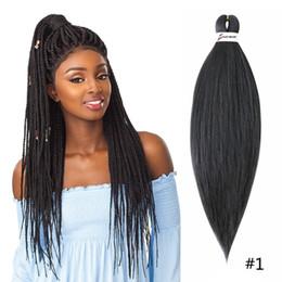 trenzas de paquetes Rebajas Extensión sintética de alta temperatura de la fibra de Kanekalon del pelo del trenzado de Ombre Easy Jumbo para el pelo del trenzado de la torsión