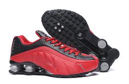 chaussures shox bon marché livrer NZ R4 809 hommes chaussures de course marque basket baskets de sport formateurs de jogging meilleure vente discount magasin ? partir de fabricateur