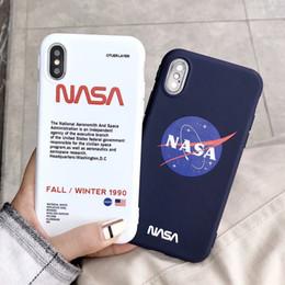 caso macio de animais iphone 4s Desconto Agência espacial NASA Designer De Luxo À Prova de Choque de Silicone Macio Caso de Telefone Capa Para o iphone X 6 6 S 7 8 Mais iPhone XS Max XR